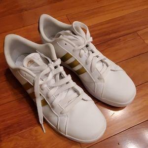 Adidas Womens Neo Cloudfoam Advantage Sneaker